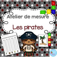 Browse over 440 educational resources created by Madame Emilie French resources in the official Teachers Pay Teachers store. Pirate Preschool, Pirate Activities, Preschool Learning, Teaching Math, Activities For Kids, Daycare Themes, Classroom Themes, 3rd Grade Math, Math Class
