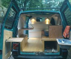 """If you are a backpacker or just on a budget and don't have a lot of money have a look at my DIY van to campervan conversion. In this post, I'm going to teach you to build your own """"House On Wheels""""."""