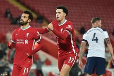 Curtis Jones played a key role for Liverpool in their last-gasp victory over Tottenham Liverpool Captain, Ynwa Liverpool, Dominic King, Ben Davies, Alexander Arnold, The Last Laugh, Harry Kane, The Minute, Referee