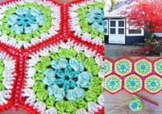 Winterse hexagons - HaakKamer7