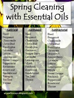 Because there are so many different essential oils with different properties, it's difficult to know which oils to use for different cleaning home remedies. Well Katie provides a solution for that problem. In this article, she lists essential oils by their key property. Depending on the type of cl…