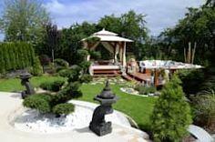 Jardin de style de style Asiatique par CAROLINE'S DESIGN