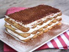 Klasické aj nevídané zákusky s mascarpone. Sweet Desserts, No Bake Desserts, Dessert Recipes, Slovak Recipes, Tiramisu Cake, Galette, No Bake Cake, Nutella, Cheesecake