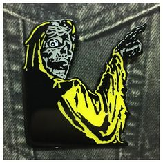 Creeper Enamel Pin from Space Waste
