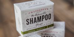 J.R. Liggett's Shampoo — The Dieline - Branding & Packaging