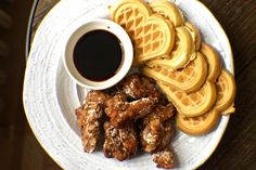 Taiwanese Fried Chicken and Onion Waffles | Community Post: 15 Next-Level Ways To Eat Chicken And Waffles