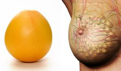Nature Pharmacy - Round Citrus (lemon and Grapefruit). No coincident that it looks like the breast. Citrus has a substance called limonoids which is shown to inhibit the development of cancer in human breast cells.