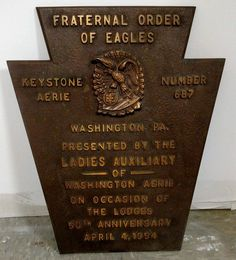 US $65.00 Used in Collectibles, Historical Memorabilia, Fraternal Organizations