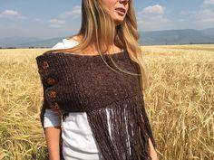 Ravelry: Pierre's Fringe Wrap pattern by Selena Miskin