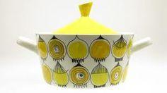 Picknick from Rörstrand Swedish Design, Scandinavian Design, Ceramic Pottery, Pottery Art, Keramik Design, Vintage Pottery, Hand Painted Ceramics, Vintage China, Ceramic Painting