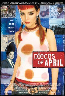 "Pieces of April - My own lil tradition to watch it the night before Thanksgiving. It's what us ""first pancakes"" do."