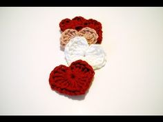 Crochet Magic Hearts: Beginner Friendly video Tutorial and free pattern.