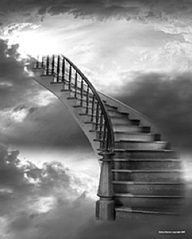 If I could just reach you... Stairway To Heaven, Tattoo Oma, Celestial, Prophetic Art, Belle Photo, Stairways, Gods Love, Jesus Christ, Savior