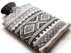 The evolution of the hot water bottle cover on It's a Stitch Up Blog