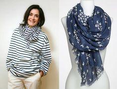 Amarre-se! 20 modelos de lenços para usar no pescoço