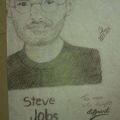 #2 Pencil Art❤ Steve Jobs  #themanwhothoughtdifferent  #pencildrawing#sketch#art#instadrawing #passion #stevejobs#apple #portrait#artlife#artsy#artssecret#art_prime #artist_4_shoutout#artinspired #artshelp#worldofpencils #arts_gallery #artwork#sketchbook#dailyartistiq#johnnys_artbook