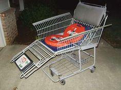 shopping cart chair!