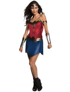 Déguisement classique Wonder Woman Justice League™ adulte