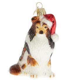 Collie Dog in Santa Hat: Bonkers baubles - Domestic Sluttery