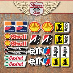 Motorbike Race Laminated Sticker Set Moto GP Superbike Racer - Bridgestone custom stickers motorcycle