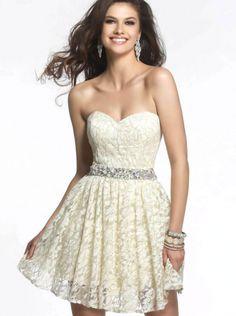 Lace Short Bridesmaid Dress Homecoming Dress Prom Dress 2015 faviana 7435  Short Lace Bridesmaid Dresses 45dd4c71f1b4