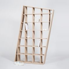 Contemporary shelf / oak SAPIA Drugeot Labo
