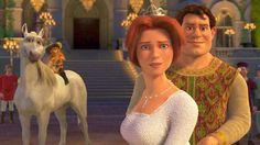 Shrek and Fiona human form Dreamworks Movies, Dreamworks Animation, Disney And Dreamworks, Disney Pixar, Shrek And Fiona Costume, Fiona Y Shrek, Princesa Fiona, Cosplay, Shrek Donkey
