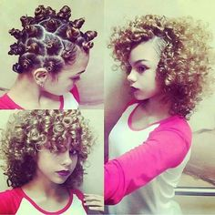 .My hair isn't this texture but I LOVE those curls!