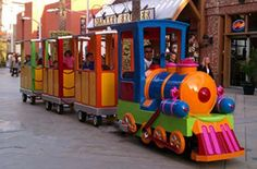 Specifications: Capacity: 16 adults or 24 kids Loco size: mm Dimension: Turning radius: Max speed: Battery set: lead acid Range: Power: Christmas Catering, Polar Express Party, Go Kart Plans, Kids Indoor Playground, Trains For Sale, Play Equipment, Kids Ride On, Backyard For Kids, Train Rides
