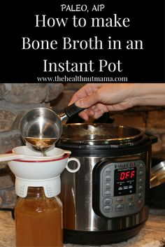 This is by far the easiest & sure way of making Bone Broth & having it gel everytime in only 2 hours! AIP, Paleo  www.thehealthnutmama.com