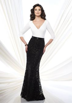 9e2f1b62d82 Montage by Mon Cheri 215916 Mother Of The Bride Dress - The Knot Best Prom  Dresses