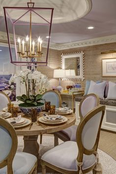 Mansion In May 2017 Casual Dining Room By Kristin Ashley Interiors