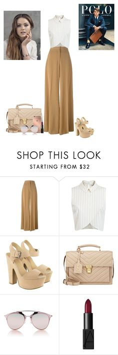 """Sin título #263"" by fersg ❤ liked on Polyvore featuring STELLA McCARTNEY, Miss Selfridge, Lipsy, Yves Saint Laurent, Mura, Christian Dior and NARS Cosmetics"