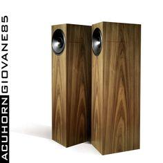 Acuhorn Giovane85 High End 96dB NeodymiumThe Best for Tube Amplifier 300B 2A3 #Acuhorn