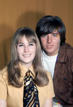 Ann Moses and Bobby Sherman