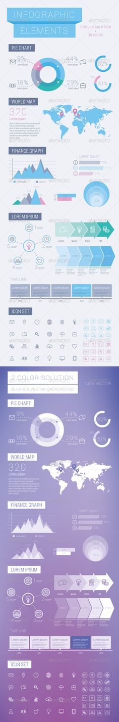 Business infographic Elements Template #infographies #Infografik Download: http://graphicriver.net/item/business-infographic-elements/7216920?ref=ksioks