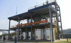 Central chinesa transforma óleo de cozinha em combustível para aviões