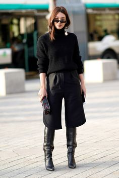 How to Wear Culottes, Palazzo Pants, Gauchos | Glamour