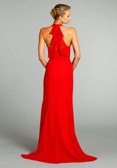 I want this for my bridesmaids in Mint!! Bridesmaids and Special Occasion Dresses by Jim Hjelm Occasions - Style jh5266