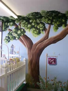 Tree Mural on Pinterest | Tree Murals, Murals and Oak Tree