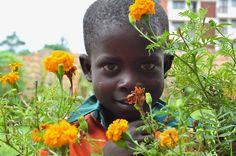 Kampala, Uganda - Simon Peter - One of my sponsored children. 2011 - photo - staci j guthrie
