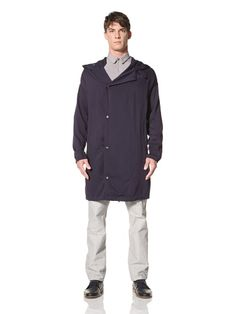 Beyond 50% OFF Assembly Men\'s Asymmetrical Jacket with Hood