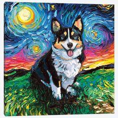 Canvas Artwork, Canvas Art Prints, Canvas Wall Art, My Baby Girl, Original Artwork, Original Paintings, Art Paintings, Starry Night Art, Art Mignon
