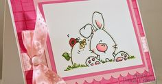 I love to make and send Easter cards. I just find most of the images irresistable. Both of these cuties are from Whipper Snapper . Both ...