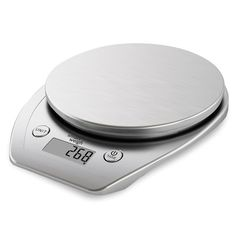 Smart Weigh Multifunction Digital Kitchen and Food Scale with Stainless Steel Platform, Large LCD Display and Six Weighing Modes, 11lb/5kg x 1g/0.1oz , Silver *** Don't get left behind, see this great  product   Kitchen Utensils and Gadgets
