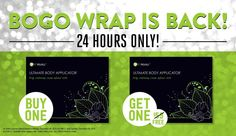 Have You Tried That Crazy Wrap Thing? | It Works http://allisonejackson.myitworks.com/