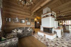 Деревянный дом под ключ-печь