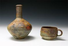 Johnne McMahan, Galaxy Duo-Wood fired Minnesota native clay reduction cooled