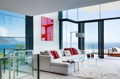contemporist - modern architecture - saota - nettleton 199 house - cape town - south africa - interior view - living room