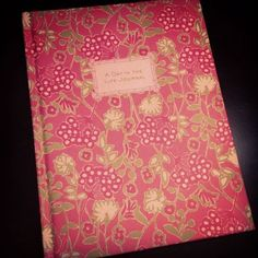 lilly journal, got to record all the amazing memories made